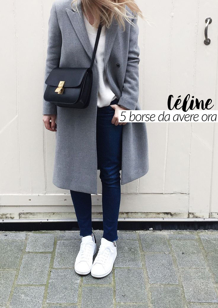 5 borse Céline da avere per l'inverno 2016
