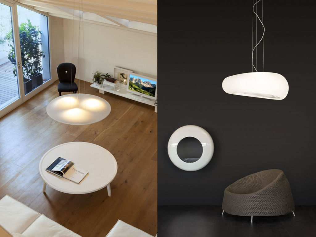 circle wave dunia linea light