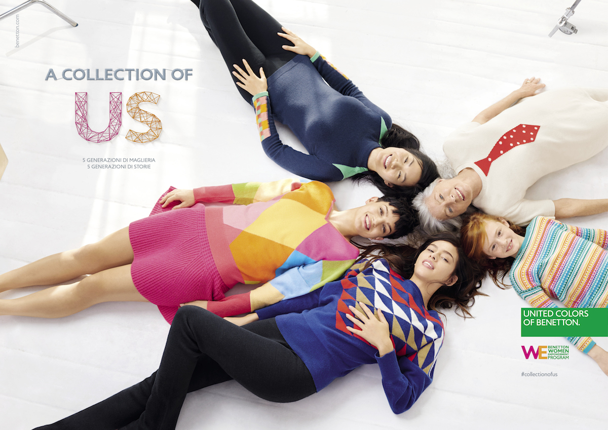 Benetton collezione a collection of us