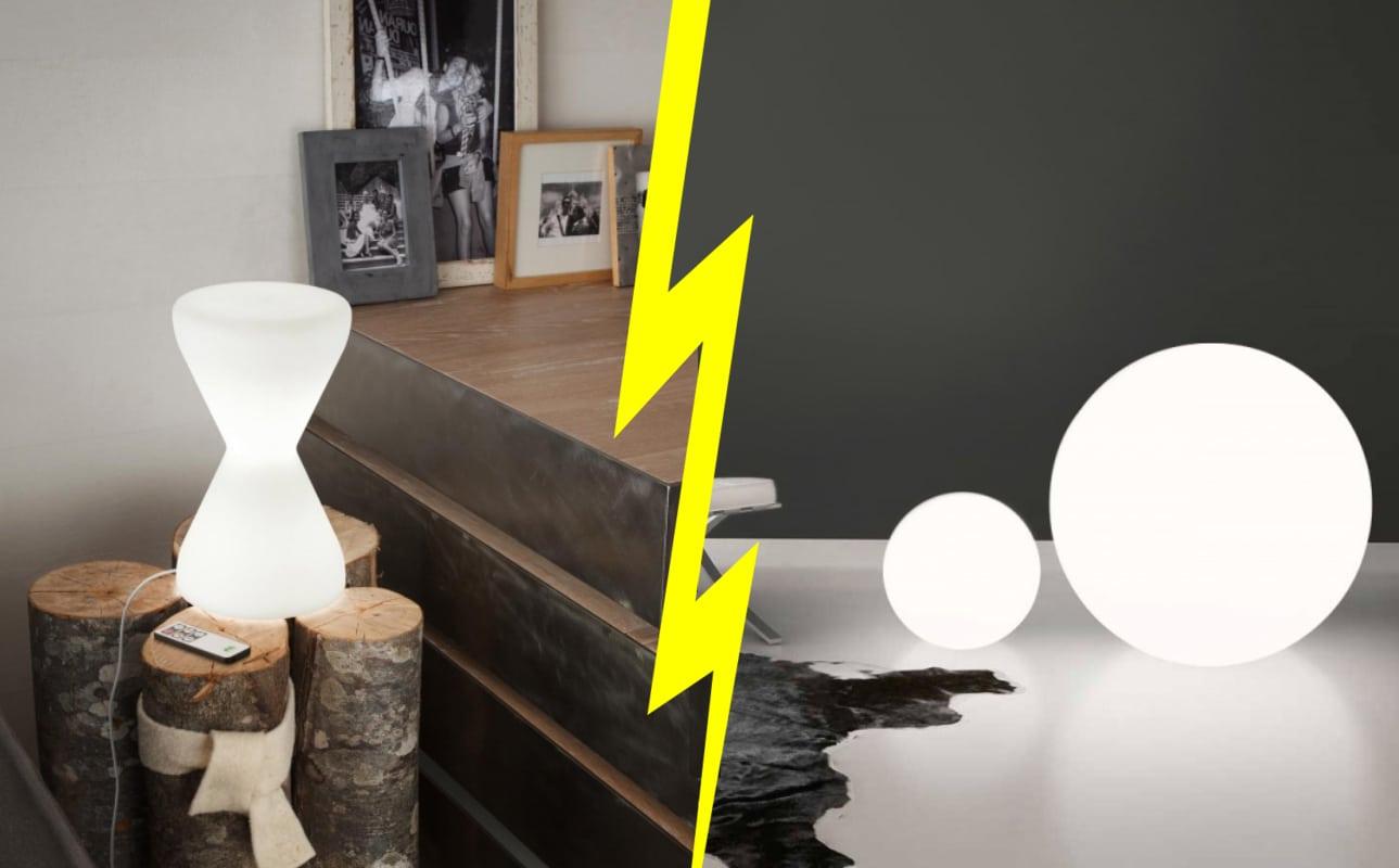 linea light group lampade