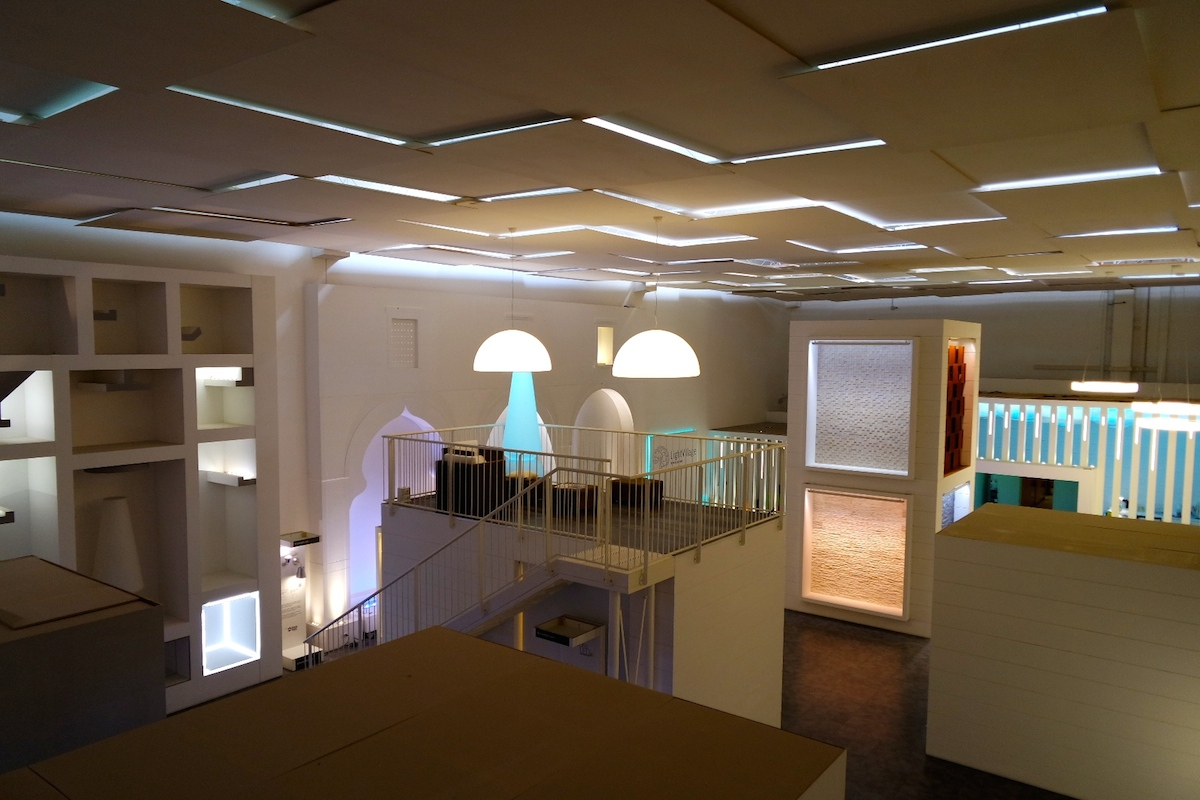 linea light showroom