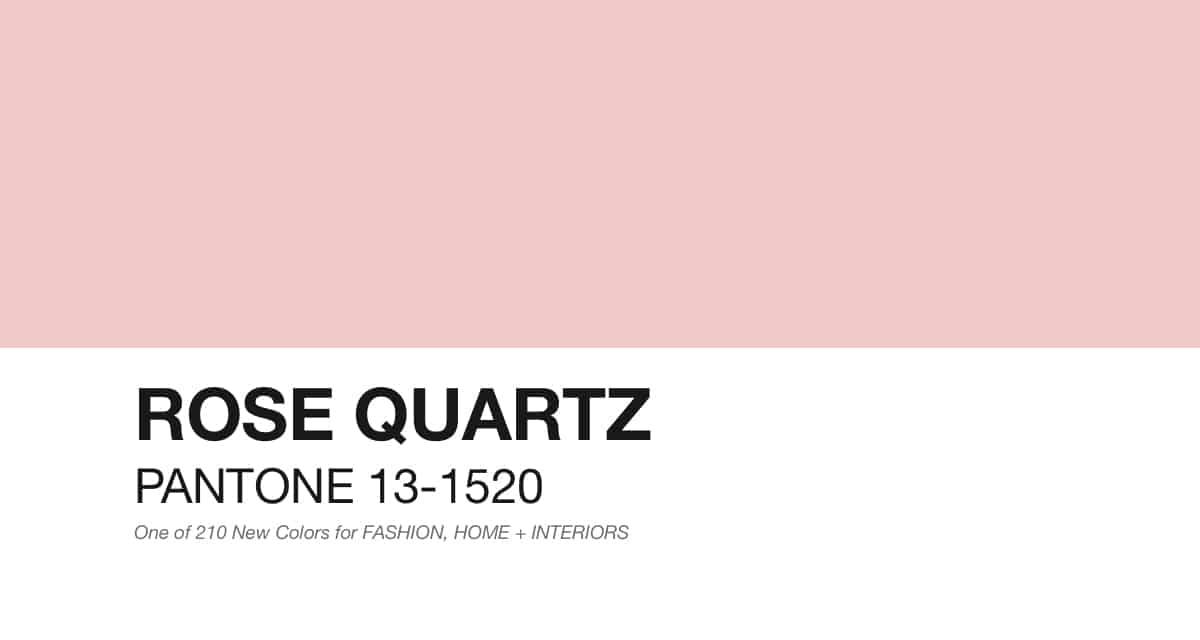1 Rose quartz, il colore dell'anno 2016 idee shopping