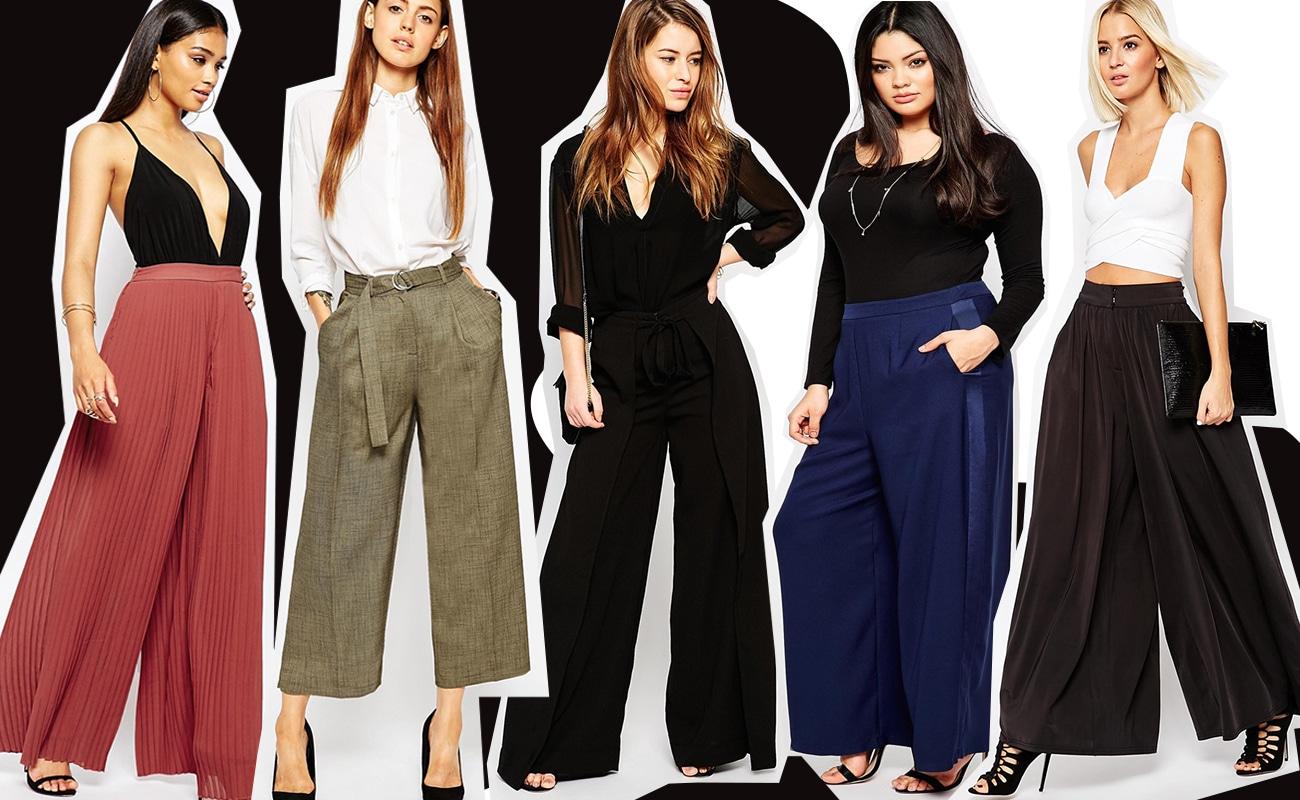 Pantaloni palazzo: corti o lunghi, ecco come indossarli e che scarpe abbinare