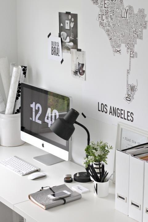 Arredare lo studio: idee se ti piace lo stile minimal