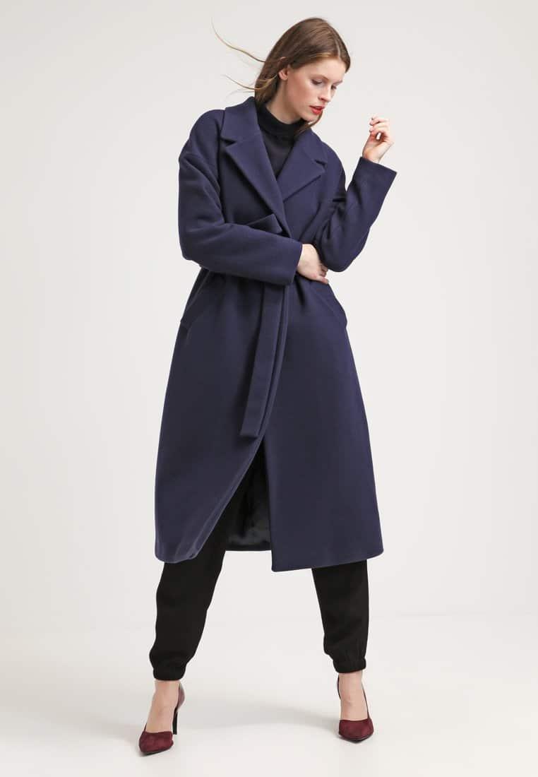 cappotto blu classico max mara