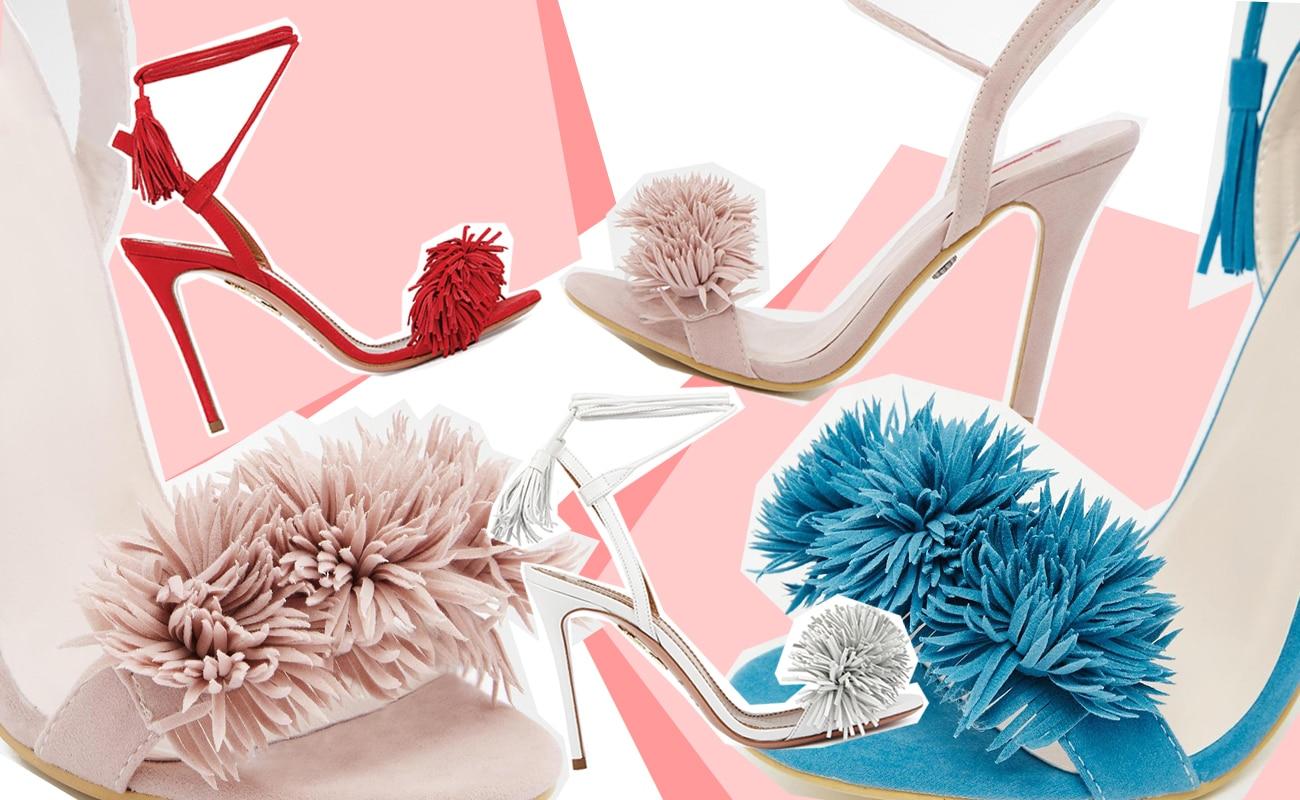 I sandali con le frange di Aquazzura in una variante…low cost