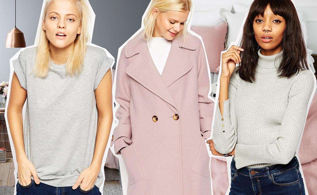 Come indossare il grigio? L'abbinamento più cool è con beige e rosa