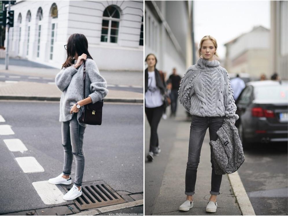 grigio abbinamenti e look