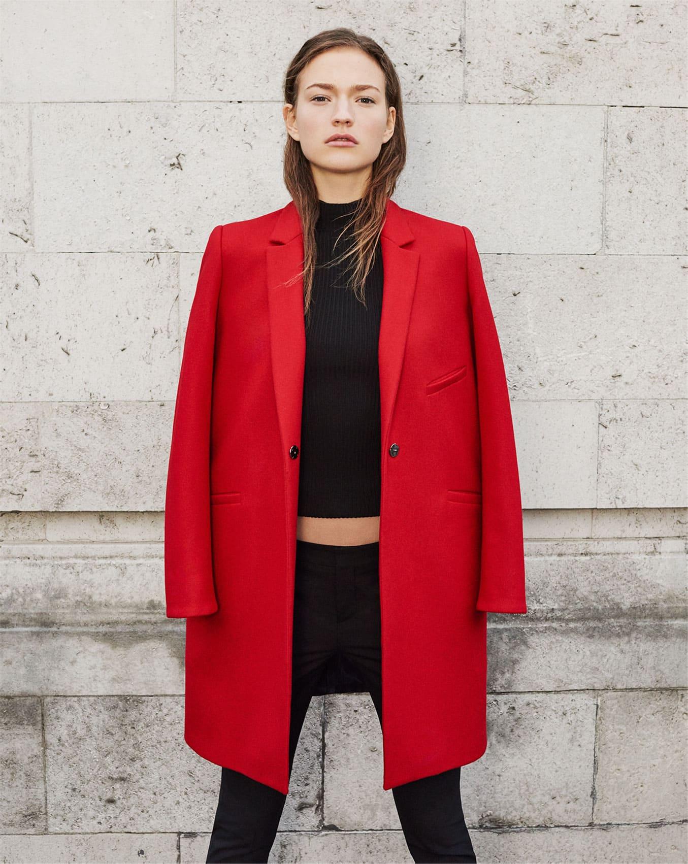 cappotto donna cappotto rosso