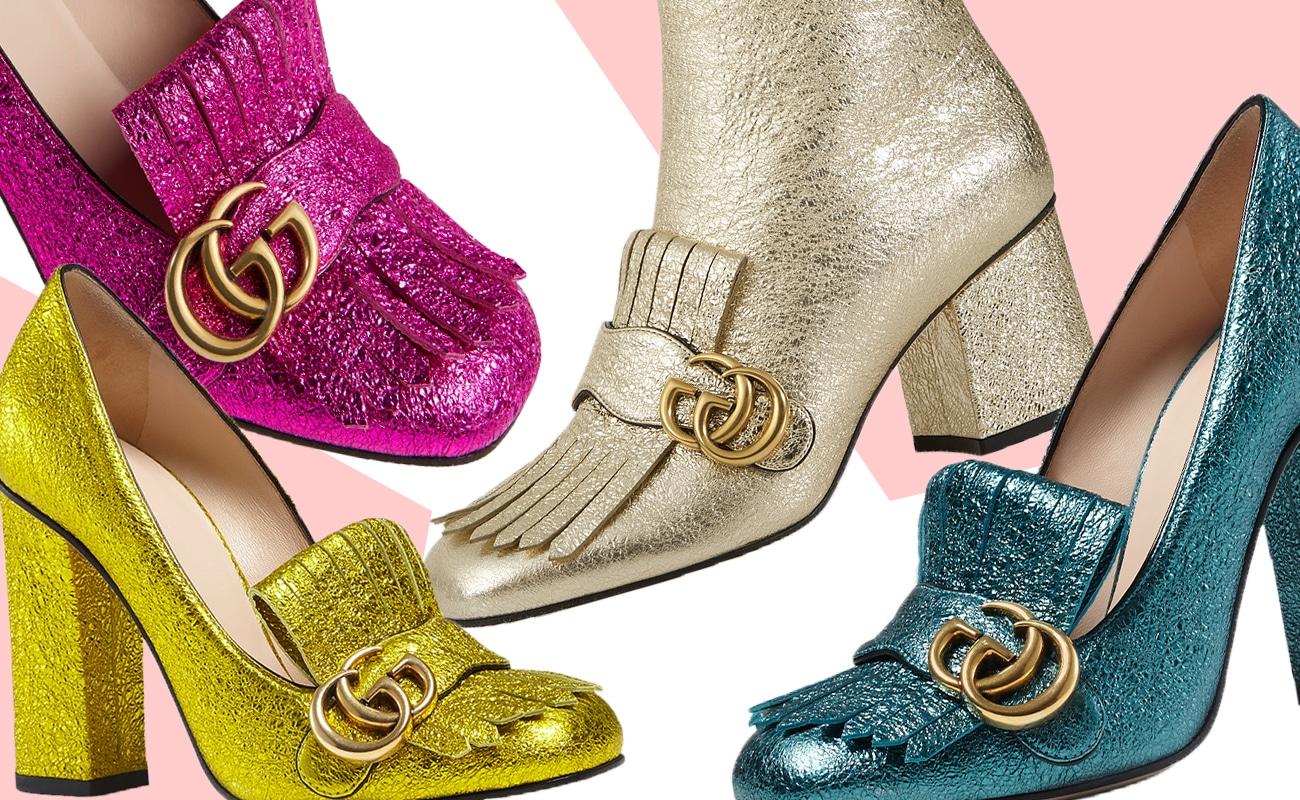 I mocassini Gucci con frange e tacco, l'ultima ossessione delle fashioniste