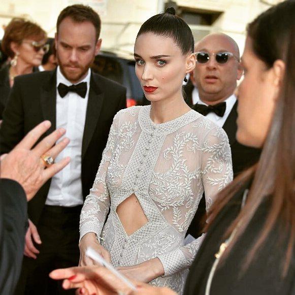 Rooney Mara in Givenchy