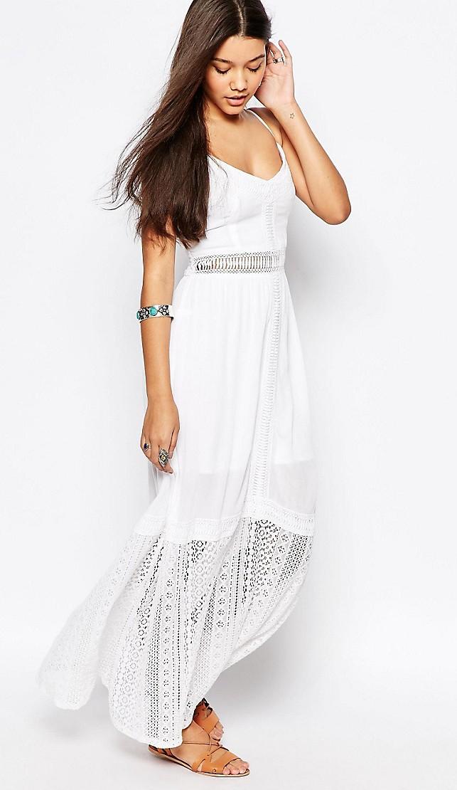 5eb0f02b9bce modelli amp m di bianco Vestito abiti h pizzo Eleganti wqxScXBH