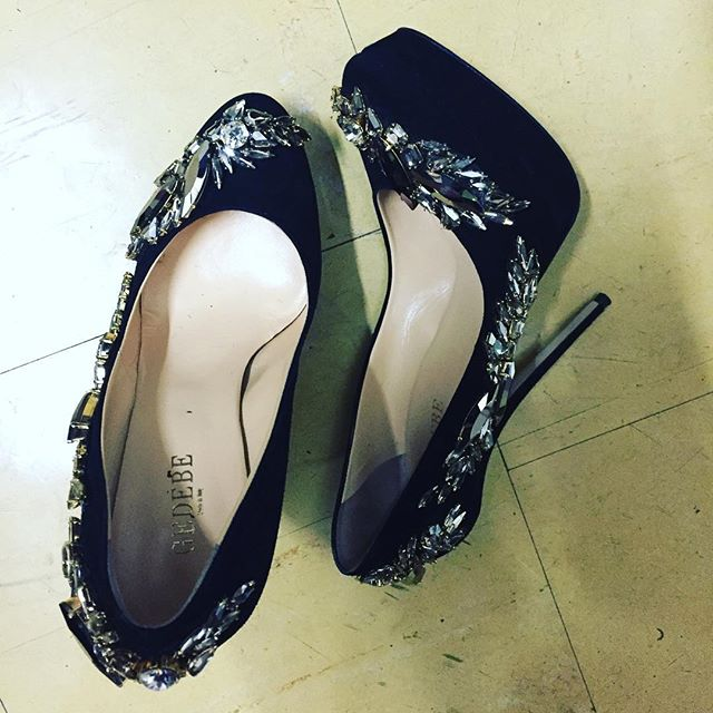 Le scarpe di Laura Pausini