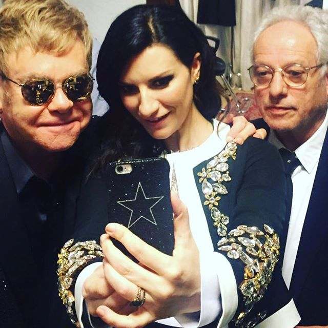 Laura Pausini meets Elton John
