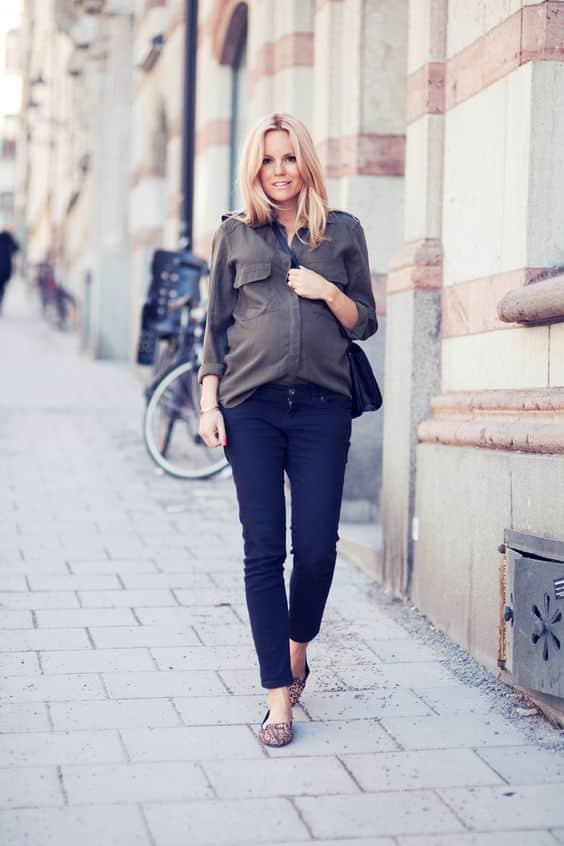 Le fashion blogger incinta: ispirati ai loro look!