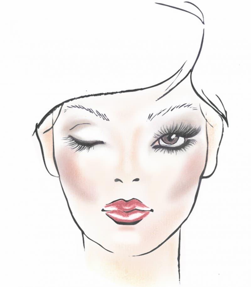 make-up naturale bronze