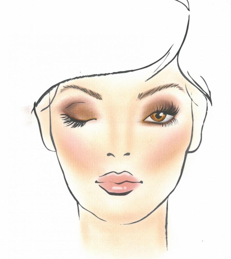 make-up naturale glamour