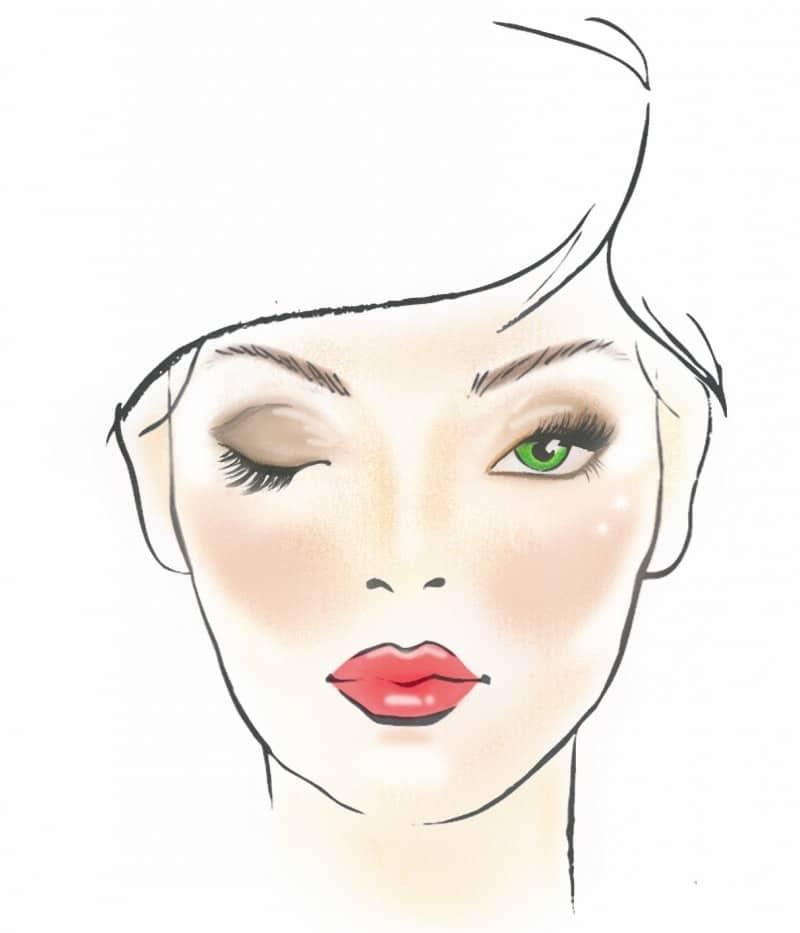 make-up naturale glowy