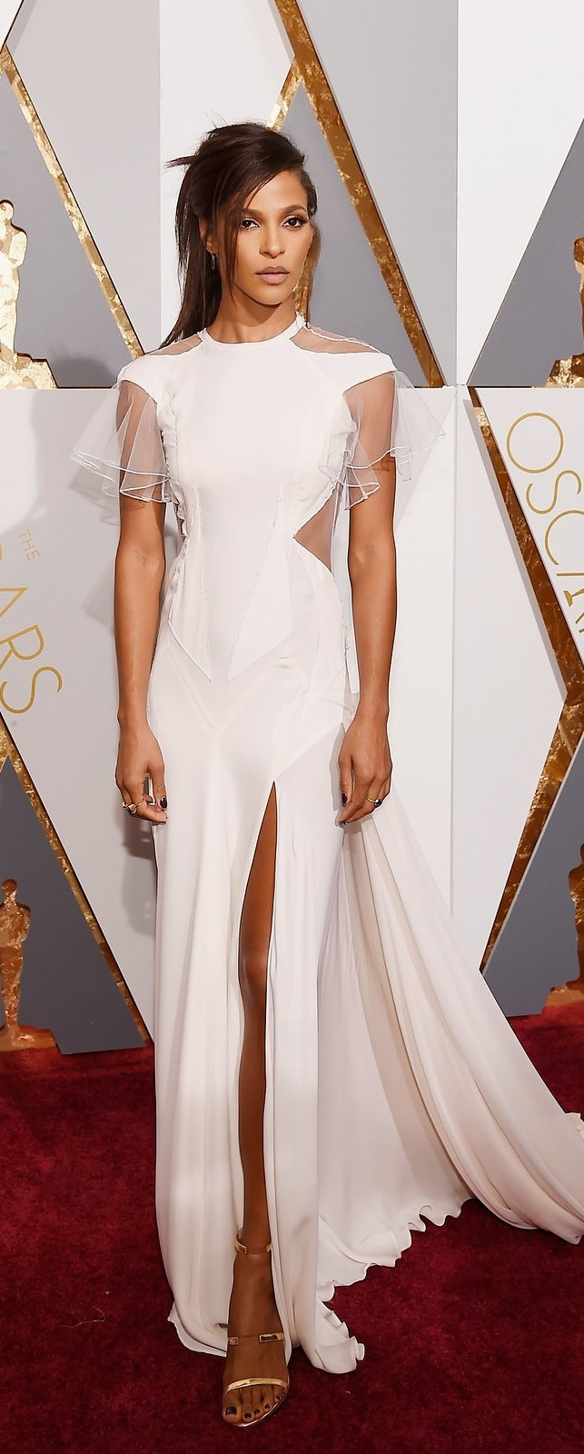 Megalyn Echikunwoke in Prabal Gurung