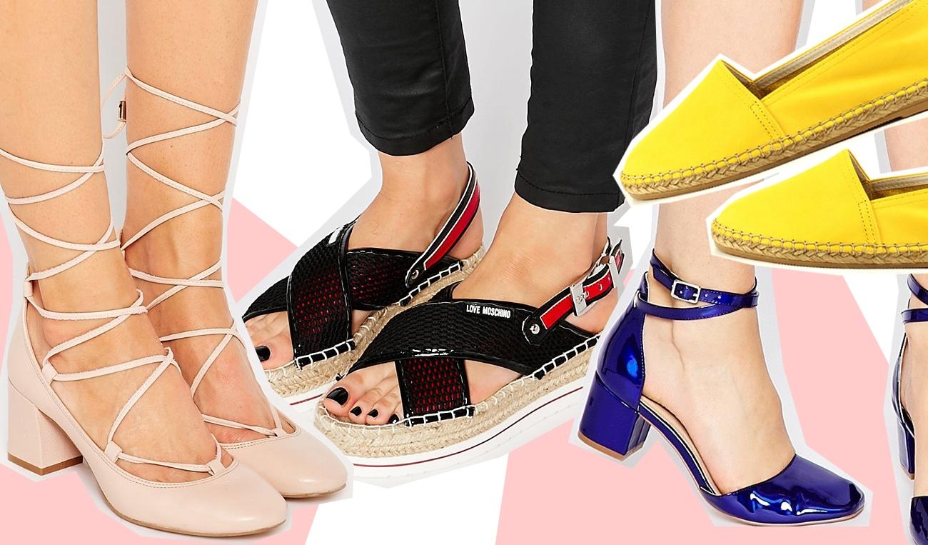 30 nuove scarpe per la primavera a meno di 100 euro