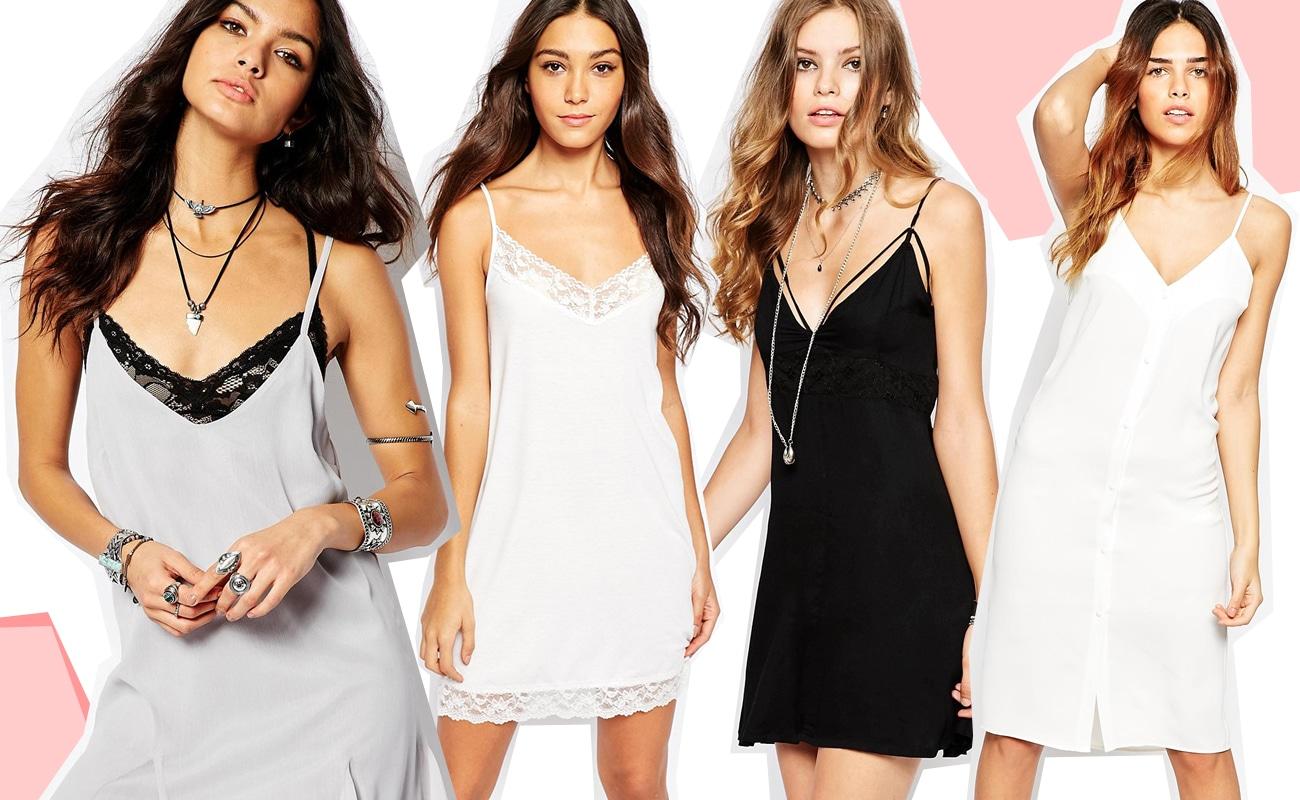 """Slip dress, il """"nuovo"""" IT dress di stagione"""