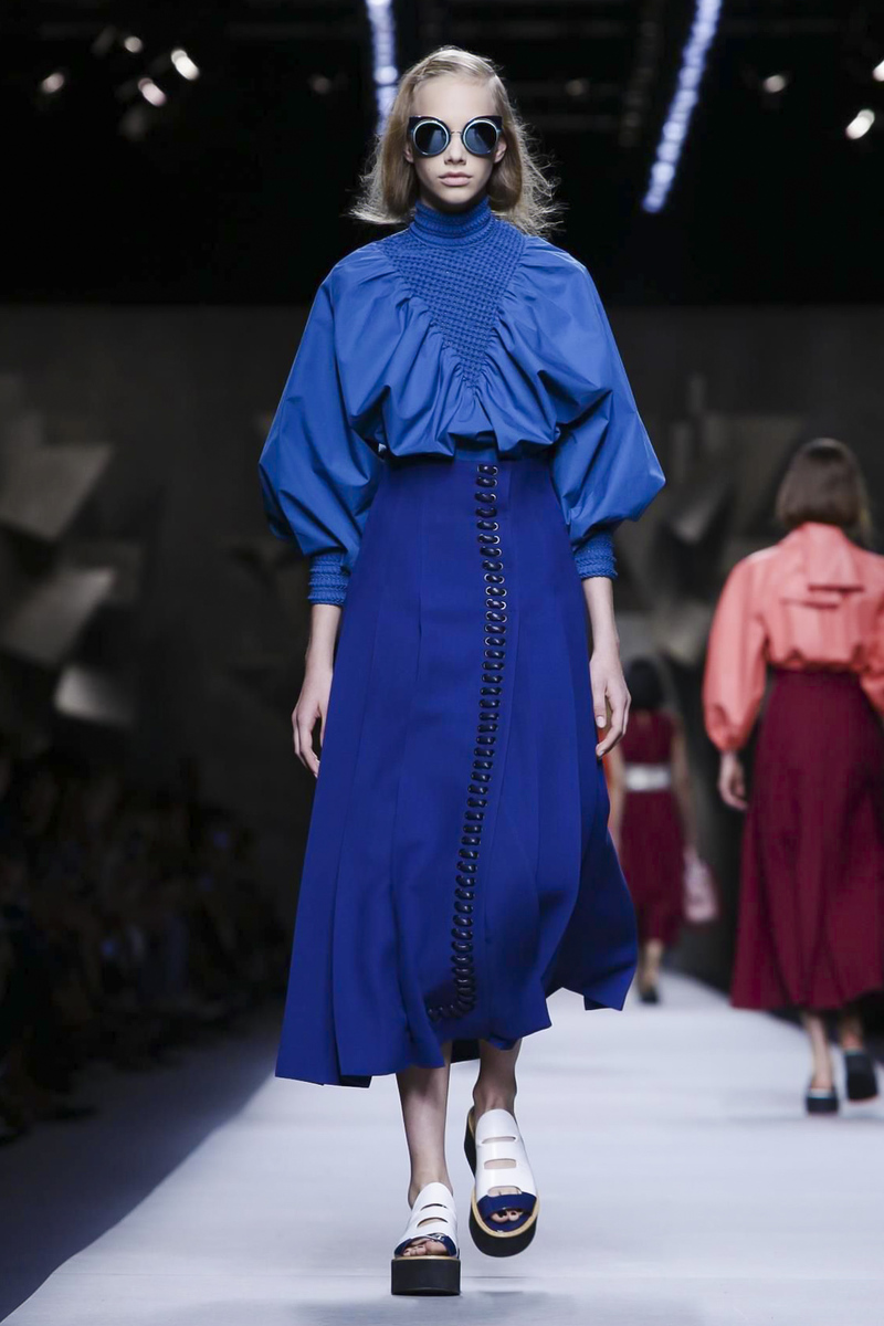 Fendi Fahions Show Ready to Wear Collection Spring Summer 2016 in Milan