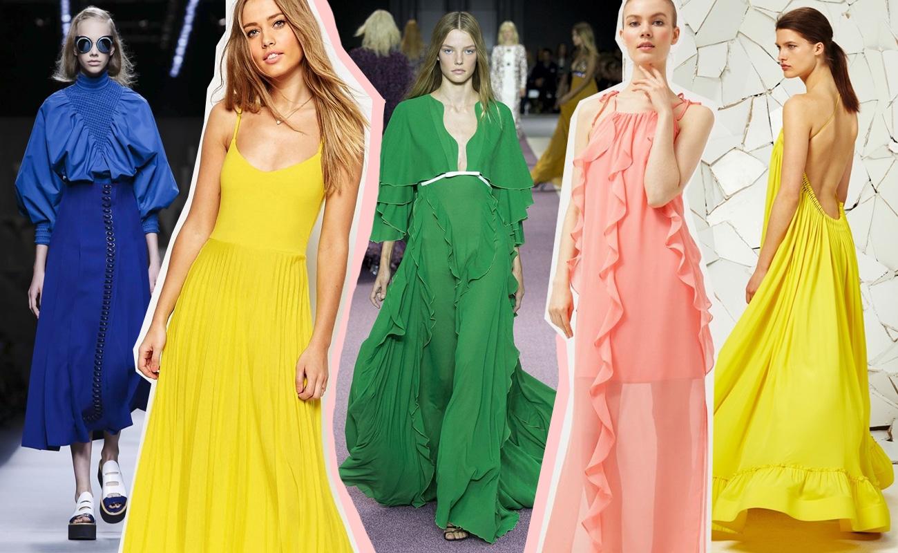 Vestiti eleganti per la primavera: i colori e i trend del momento