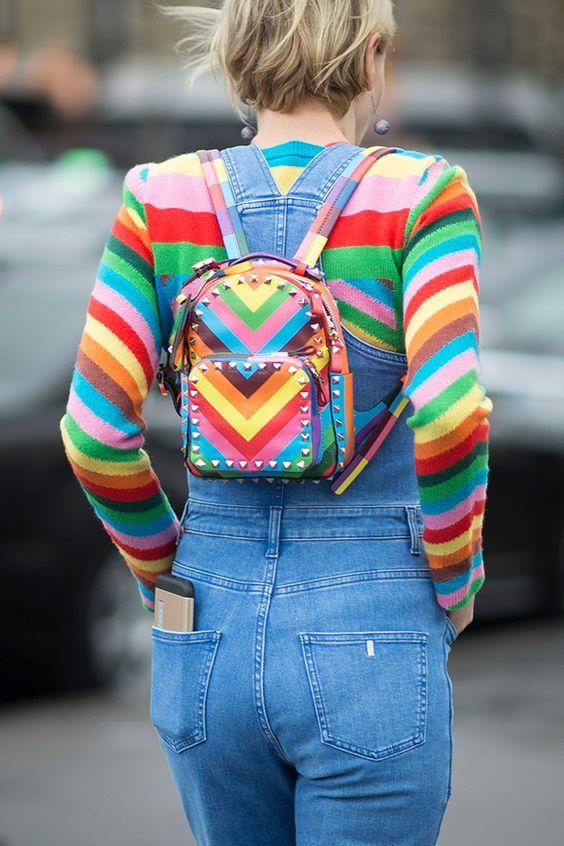 trend primavera 2016 righe multicolore