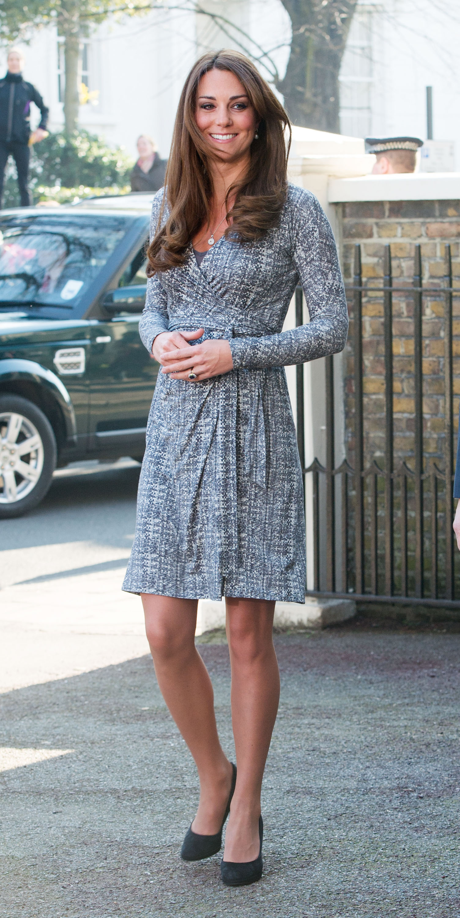 LONDON, UNITED KINGDOM - FEBRUARY 19: Catherine, Duchess of Cambridge visits Hope House on February 19, 2013 in London, England. (Photo by Samir Hussein/WireImage)