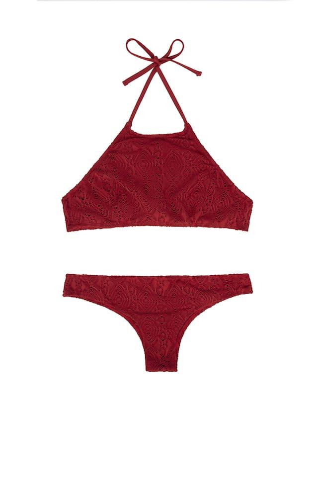 Halterneck bikini