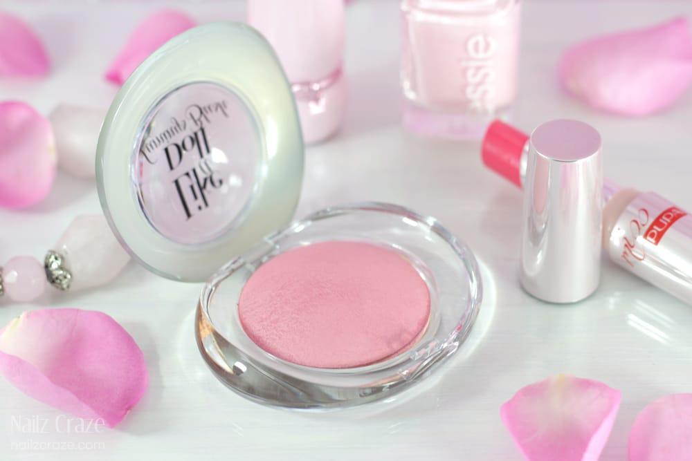 blush in polvere pupa
