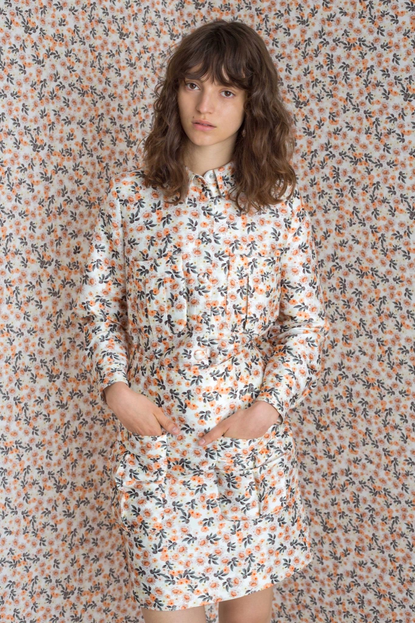 Vestiti a microfantasia per la primavera 2016