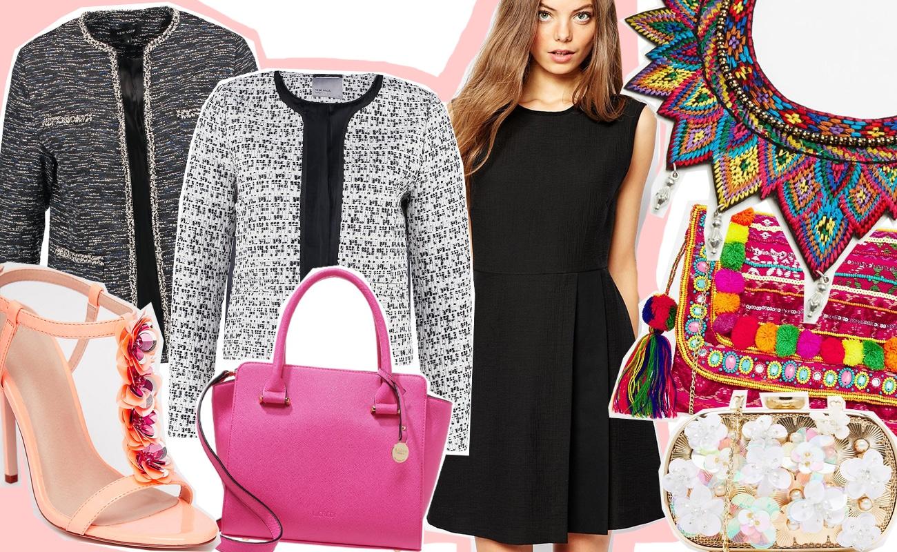 eeb470f5ba7b Vestito nero giacca rosa – Modelli alla moda di abiti 2018