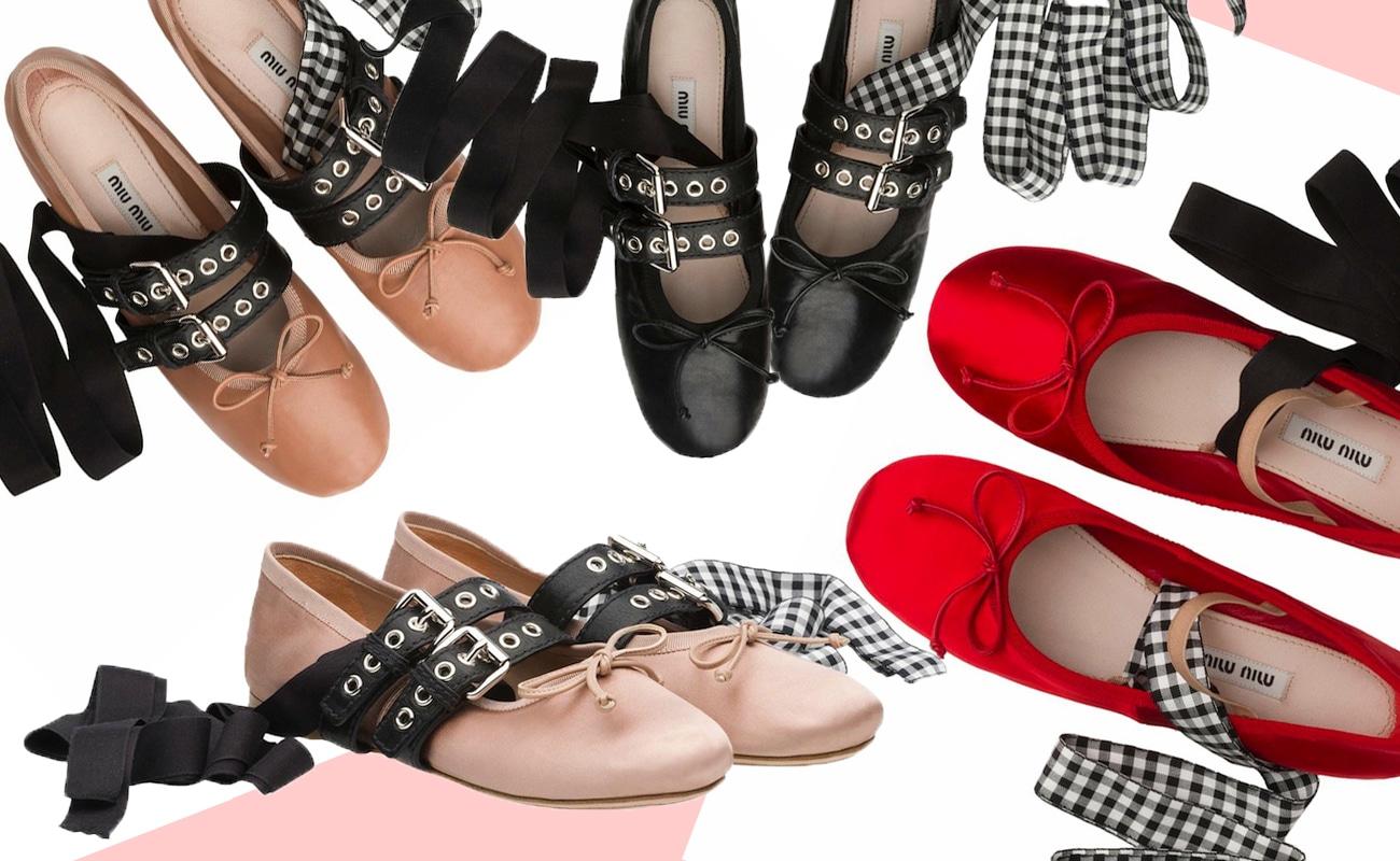 Shoes crush! Le ballerine di Miu Miu tra balletto classico e steam punk
