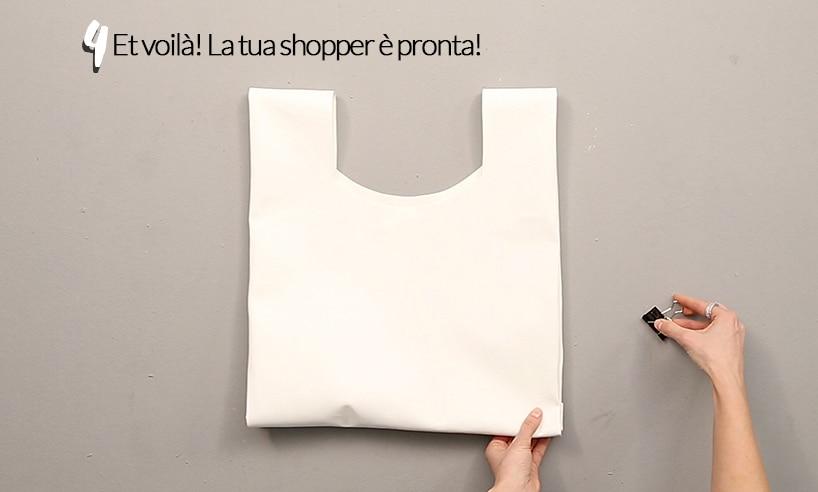 come fare una shopper in pelle (tutorial)