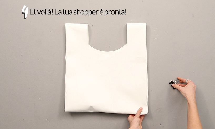 come fare una shopper in pelle (tutorial)