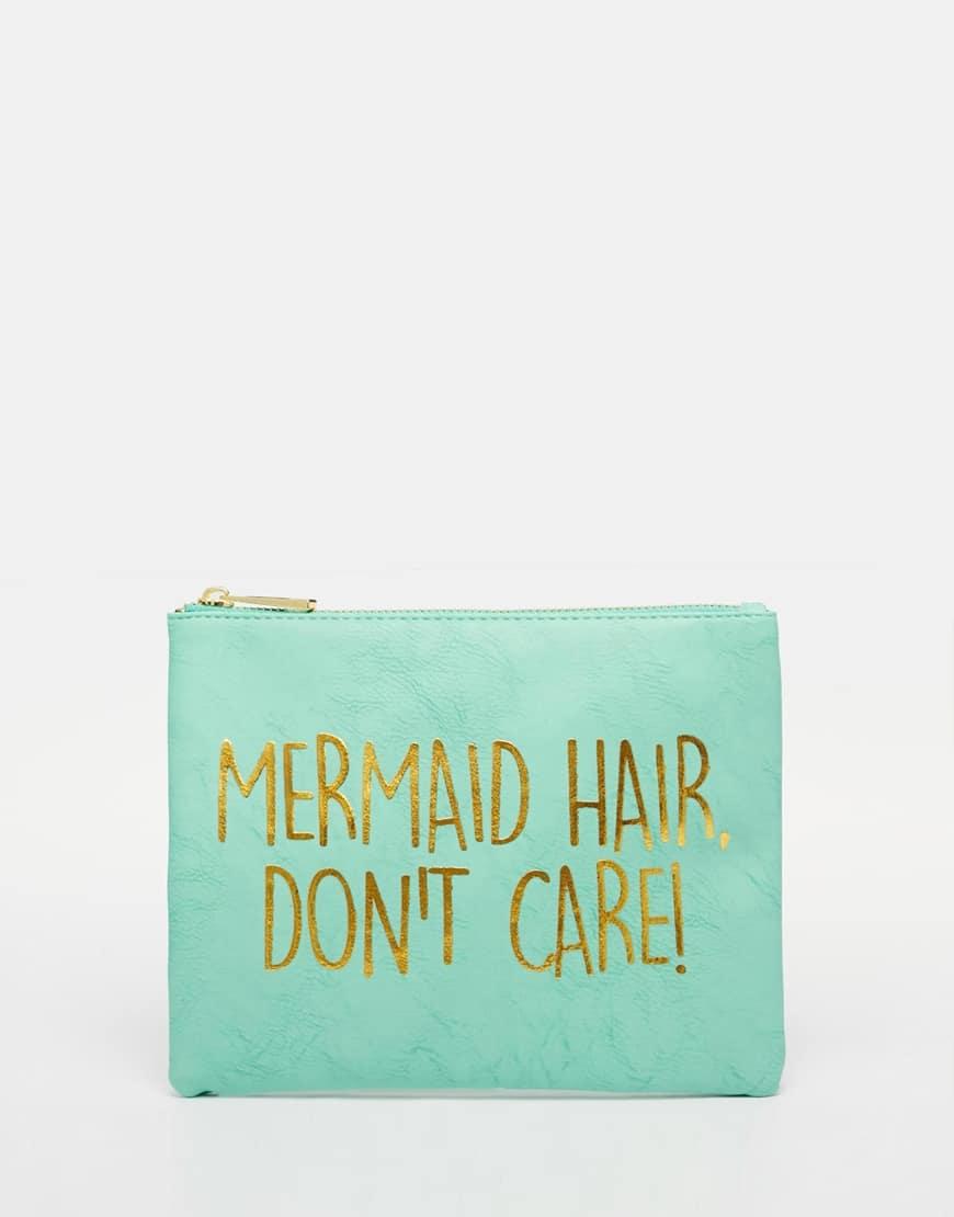 borsa con scritta sirena