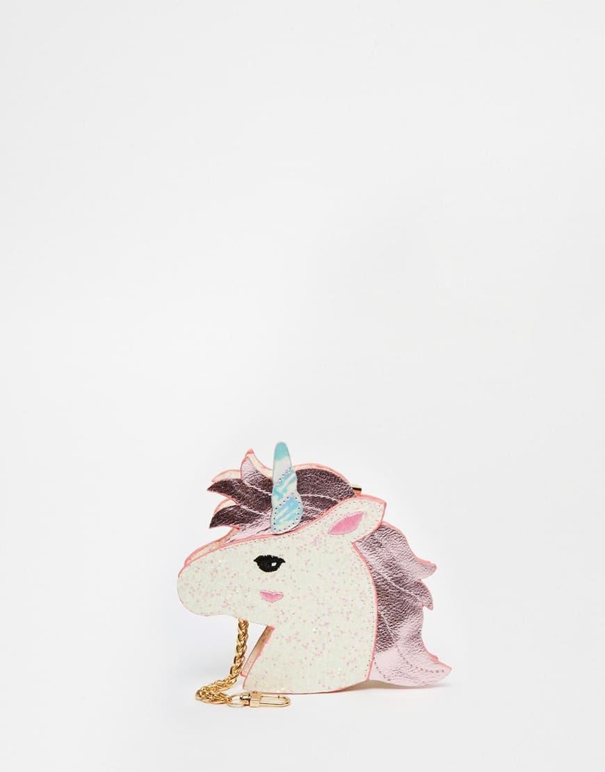 Borsellino a forma di unicorno