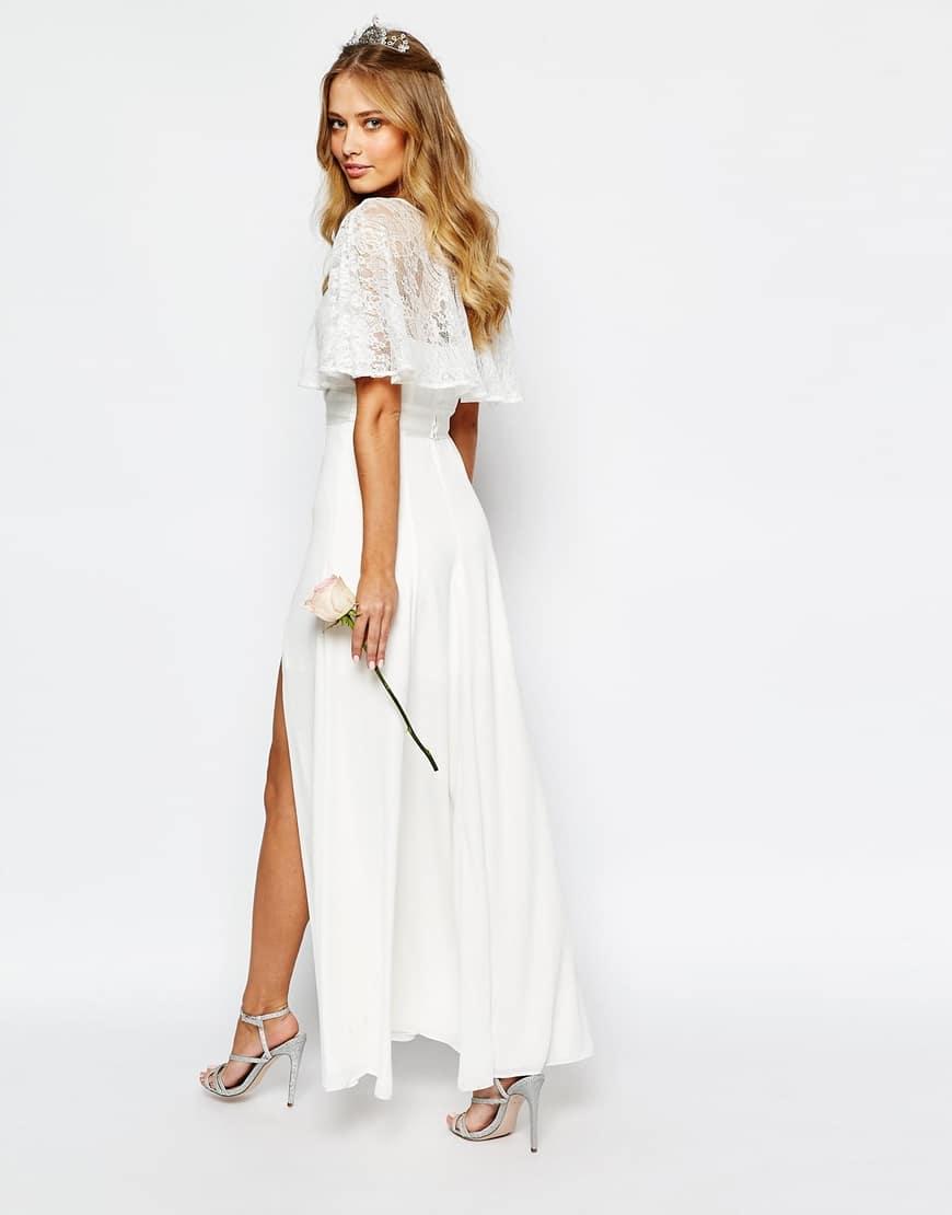 vestito da sposa economico in pizzo