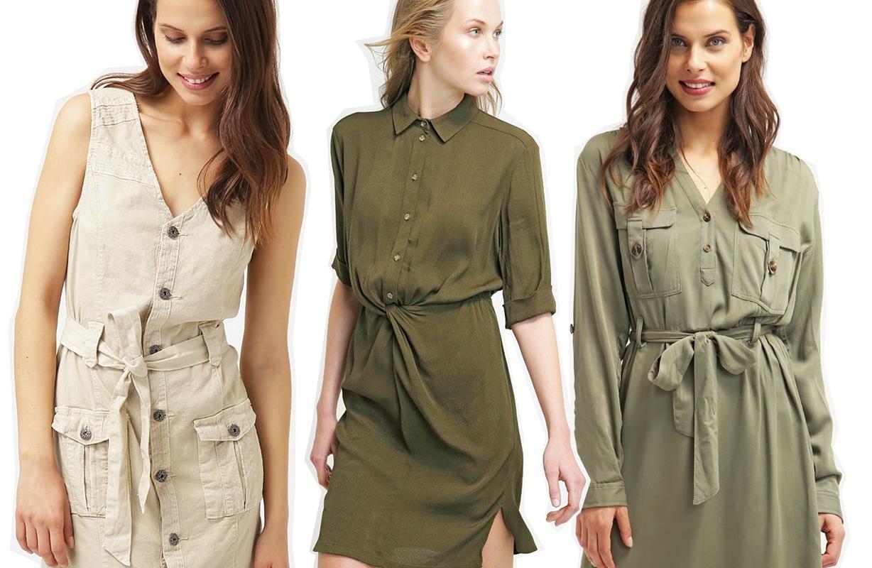 Safari dress, 10 modelli super cool per affrontare la giungla urbana
