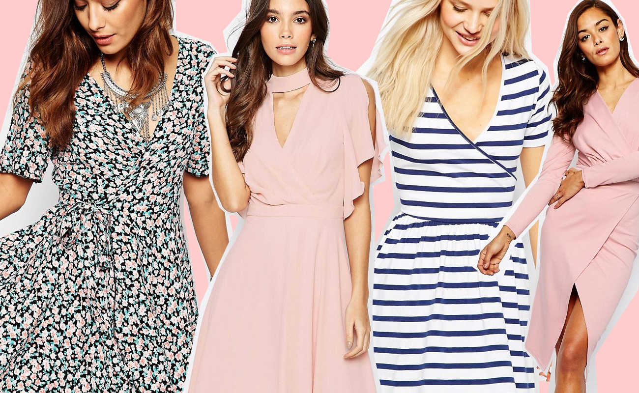 Wrap dress, il vestito incrociato che non passa mai di moda: ecco quale comprare