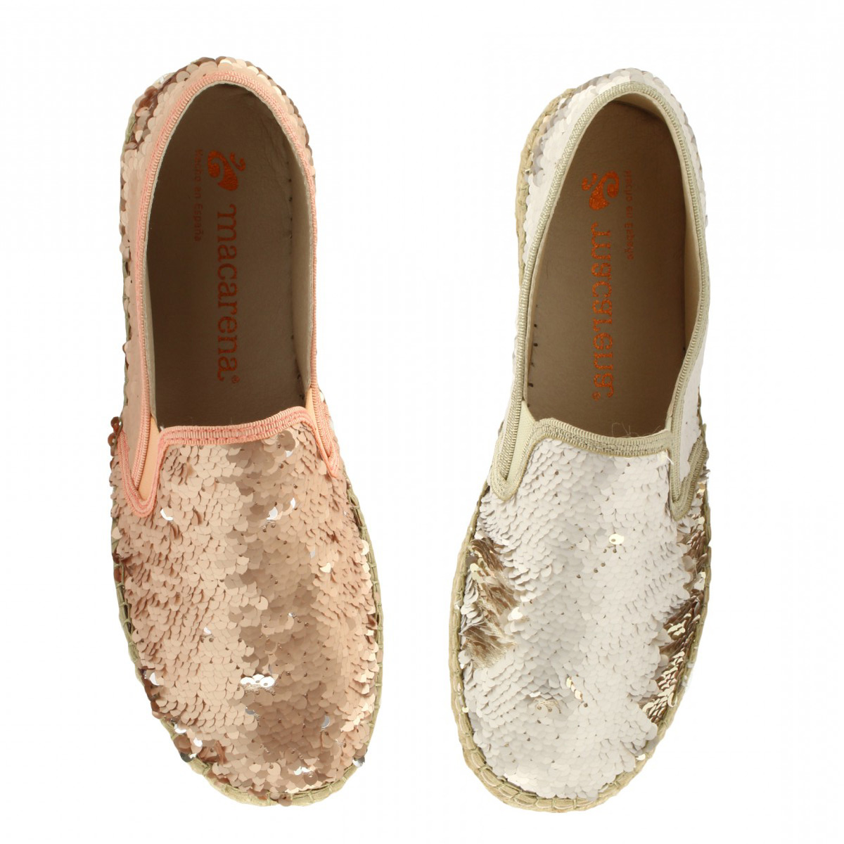 Love it, want it: espadrilles con paillettes