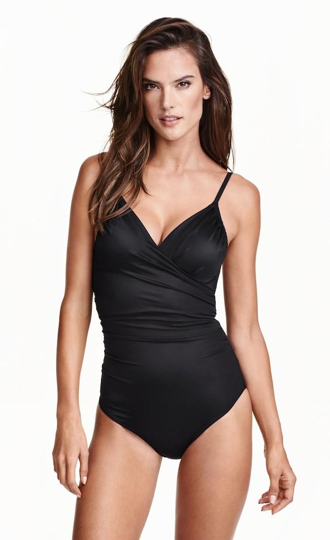 Costume intero nero impulse - Costume da bagno in spagnolo ...