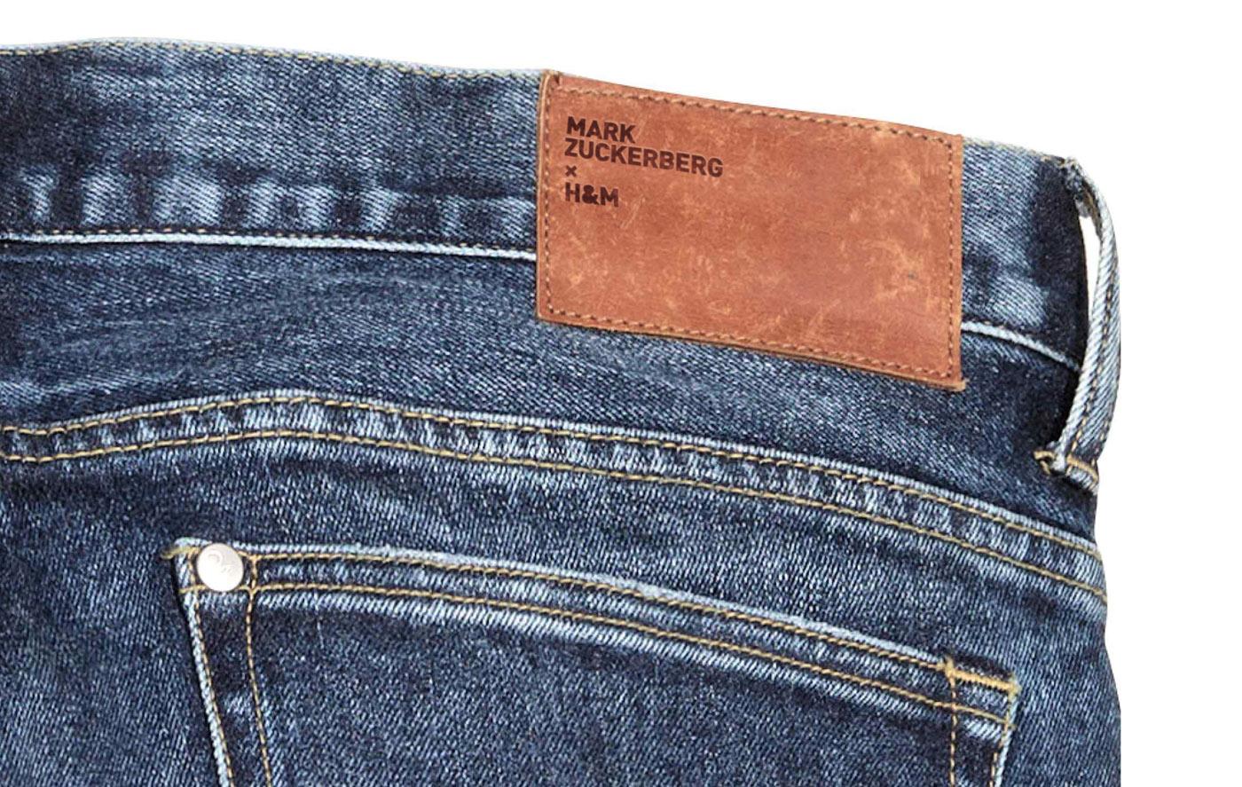 mark zuckerberg per HM jeans