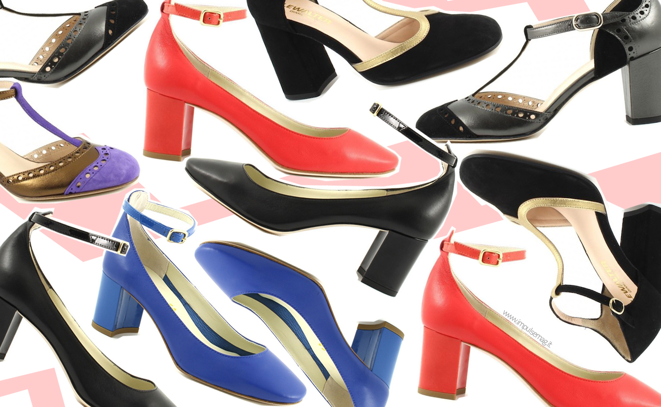 Scarpe con tacco medio, il grande ritorno per la primavera 2016