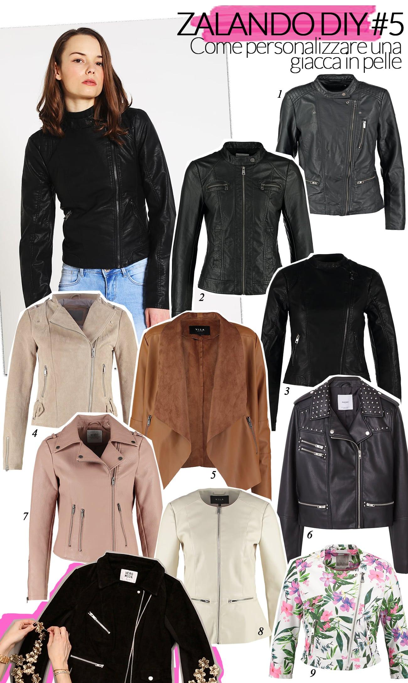 zalando giacca tutorial