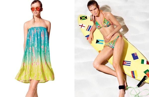 Costumi Benetton: per chi ama i fiori (tropical)