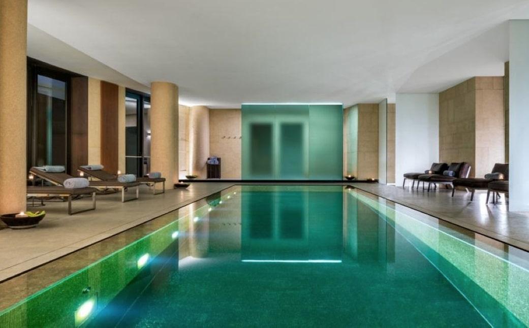 bulgari spa piscina