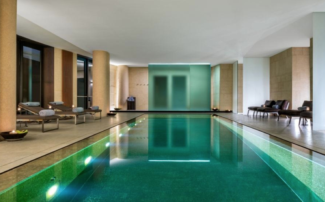 bulgari spa piscina