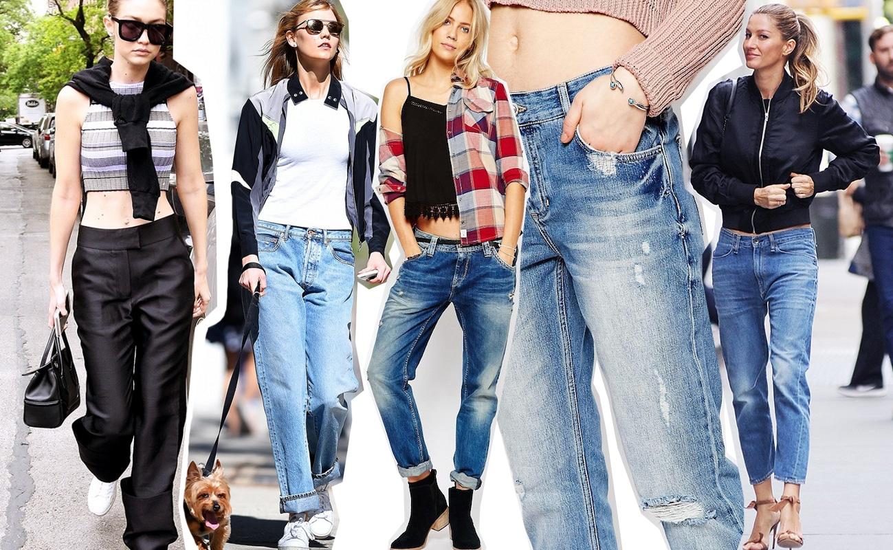 Jeans a vita bassa, ed è ancora back to 90s